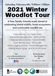 Winter Woodlot Tour 2021